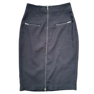 Worthington Black Pencil Skirt